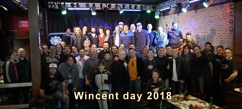 Wincent day 2018